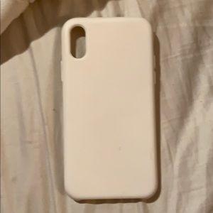 White case iPhone ten